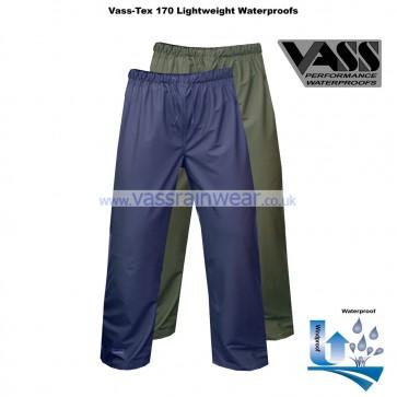 VF1754-12 Vass-Tex 170 Series Lightweight & Flexible Waterproof Trouser