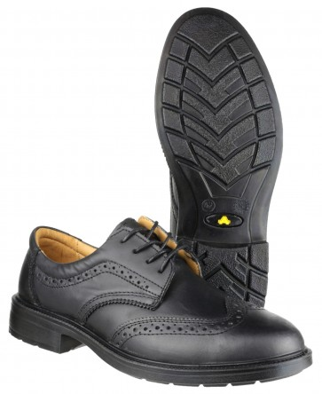 FS44 4 Eyelet Brogue Shoe
