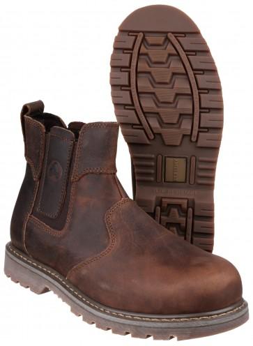 FS165 Crazy Horse Dealer Safety Boot