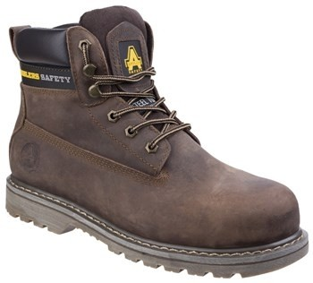 FS164 Crazy Horse Welted Boot