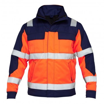 1935-830 Safety+ EN ISO 20471 Multinorm Winter Jacket