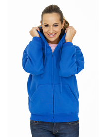 UC505 Ladies Classic Full Zip Hooded Sweatshirt