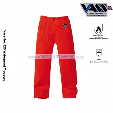 VC330-12 Vass-Tex 325 Series Heavy Duty Trousers