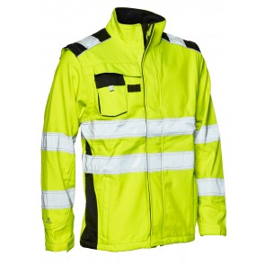 116504r Softshell jacket with detachable sleeves