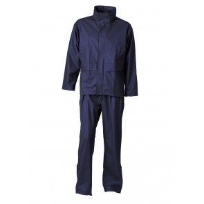 163124 Dry zone pu jacket & waist trousers