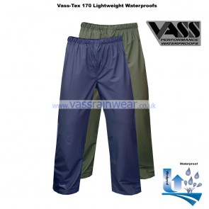 VF1754-12 Vass-Tex 170 Series Lightweight & Flexible Waterproof Trouser