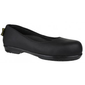 FS109c Ladies Safety Flat Court Shoe