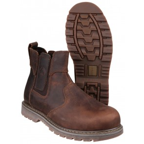 FS165 Crazy Horse Dealer Safety Boot