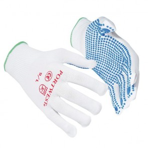 PW070 Nylon polka dot glove (A110)