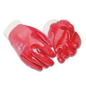 PW076 PVC knitwrist glove (A400)