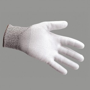 PW083 Cut level 3 PU palm coated glove (A620)