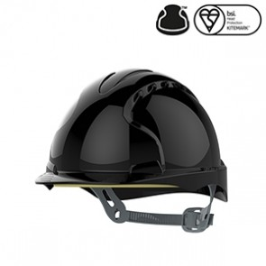 EVO®2 Safety Helmet with Slip Ratchet - Black - Vented