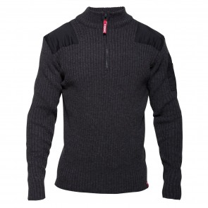 8017-501 Combat Knitwear W/ High Collar