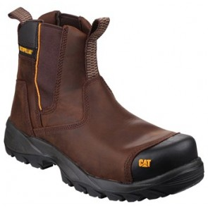 CAT PROPANE - Light Industrial Pull On Boot with SRX Sole