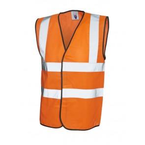 UC801 Sleeveless Safety Waist Coat