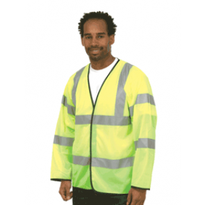 UC802 Long Sleeve Safety Waist Coat