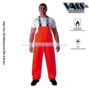 VC330-13 Vass-Tex 325 Series Heavy Duty Bib & Brace Trouser