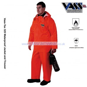 VC330-17 Vass-Tex 325 Series Heavy Duty Smock with Hood