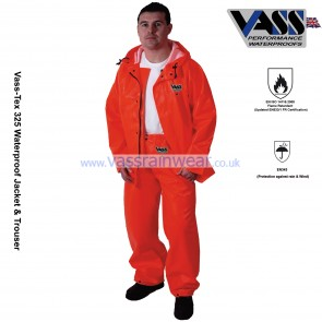 VC330-20 Vass-Tex 325 Series Heavy Duty Jacket with Hood