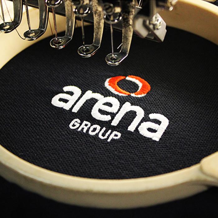 Arena polo on machine